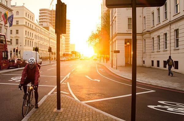 mobilité douce vélo